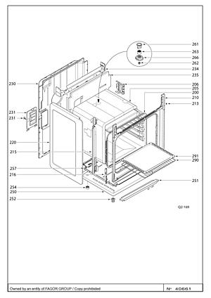 mode designer 033b6 9522b Pièces détachées Cuisinière KIP100W / KIP100W1 - sav ...