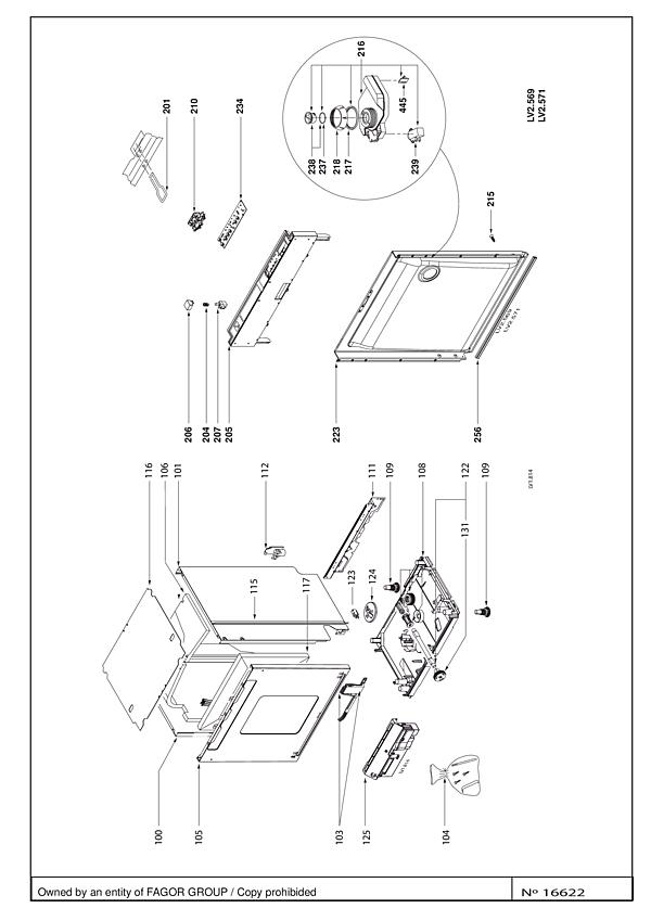 SVH92JF1 / SVH92JF1/D - Vue éclatée 4