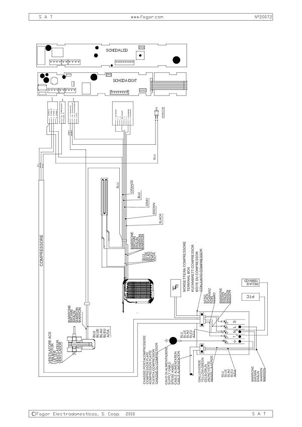 BFU282YNW / BFU282YNW/1 - Vue éclatée 2