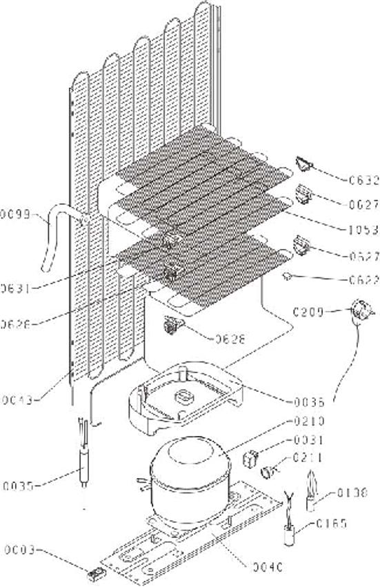DRC1212J / DRC1212J/2 - Vue éclatée 3