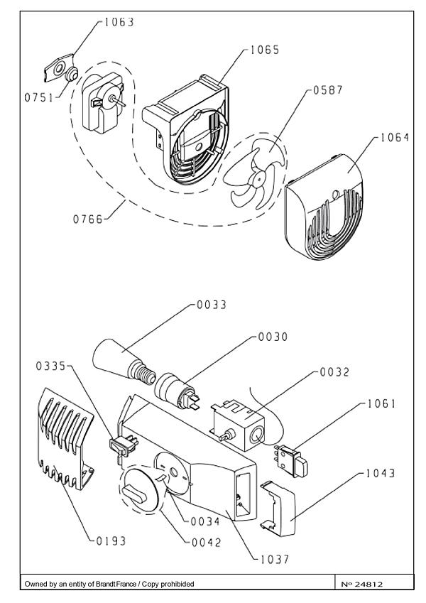 DRC1212J / DRC1212J/2 - Vue éclatée 2