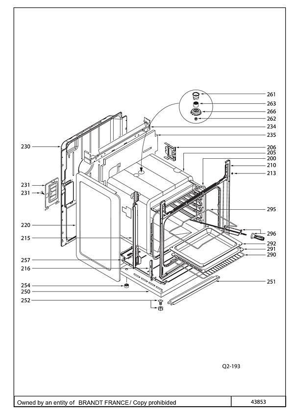 DCI1593X / DCI1593X1 - Vue éclatée 2