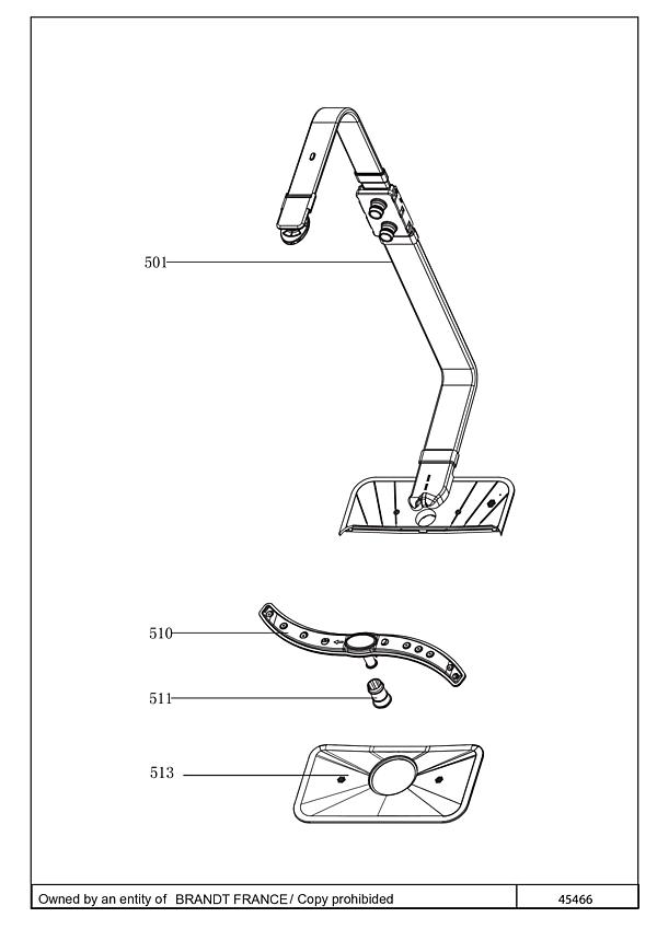 FV1432J / FV1432J/01 - Vue éclatée 2