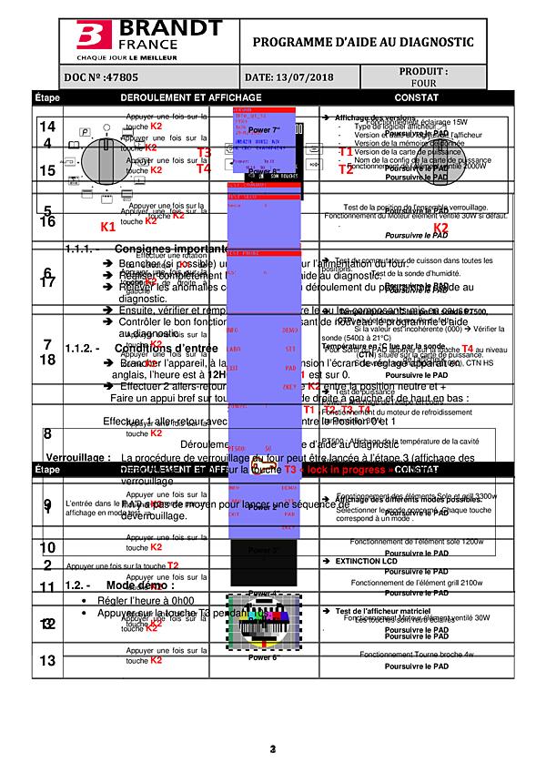 SFP945BT / SFP945BT2 - Vue éclatée 2