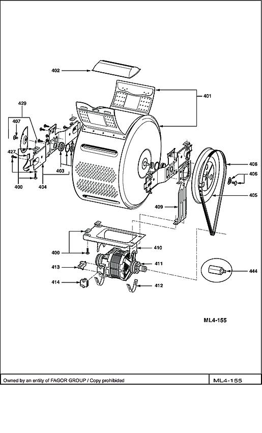 BWT6012E / BWT6012E-X/01 - Vue éclatée 3