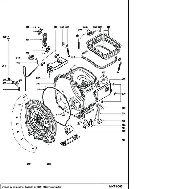 MAXI7312G / MAXI7312G/02 - Vue éclatée 2