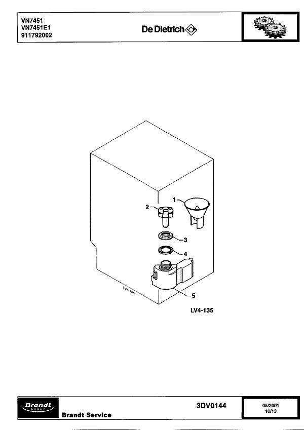 VN7451 / VN7451E1 - Vue éclatée 1