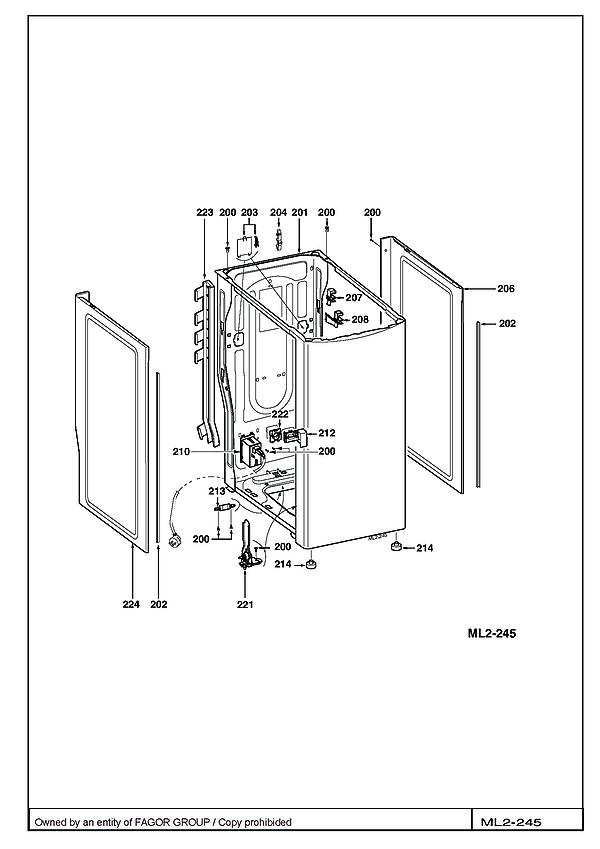 VLT6000S / VLT6000S-F/02 - Vue éclatée 3