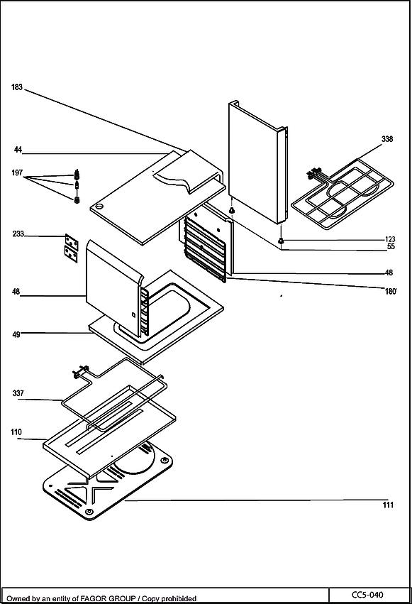 DCM1000B / DCM1000B1 - Vue éclatée 4