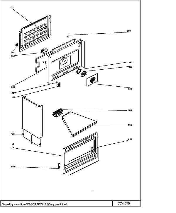 DCM1000B / DCM1000B1 - Vue éclatée 1