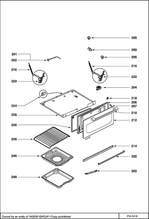DOV1145XC / DOV1145XC1 - Vue éclatée 1